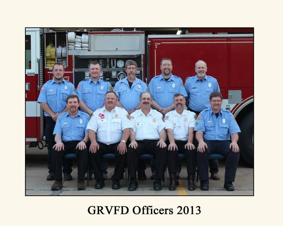 GRFVD Officers 2013