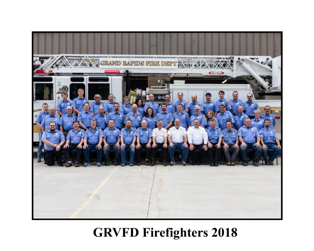 GRVFD Firefighters 2018